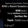 Taşeron İşçiye Kadro Düzenlemesi KHK ile Resmi Gazetede Yayınlandı.