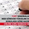 YURT Sendikaları Görevde Yükselme Online Deneme Sınavı