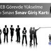 MEB Görevde Yükselme Yazılı Sınavı Sınav Giriş Kartı