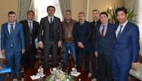 Erzurum Valisi Sayın Okay MEMİŞ'i makamında nezaket ziyareti