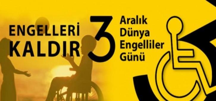 3 Aralık Dünya Engelliler Günü Mesajimız
