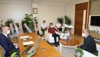 Antalya İl Milli Eğitim Müdürüne Sendika Ziyareti